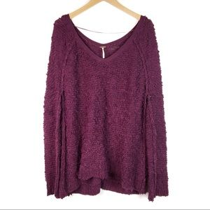 Free People | Songbird oversized sweater M